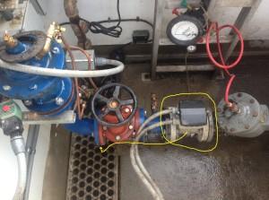 Improper installation at a tanker fill station ILL